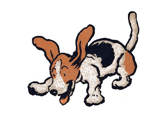560x400 Happy Leaping Beagle Cecil Aldin Dog Fun Animals Art Prints
