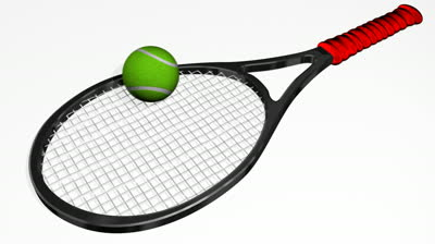 400x224 Bat Clipart Tennis Ball