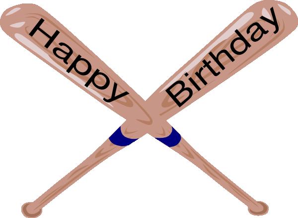 600x438 Crossed Baseball Bat Clip Art