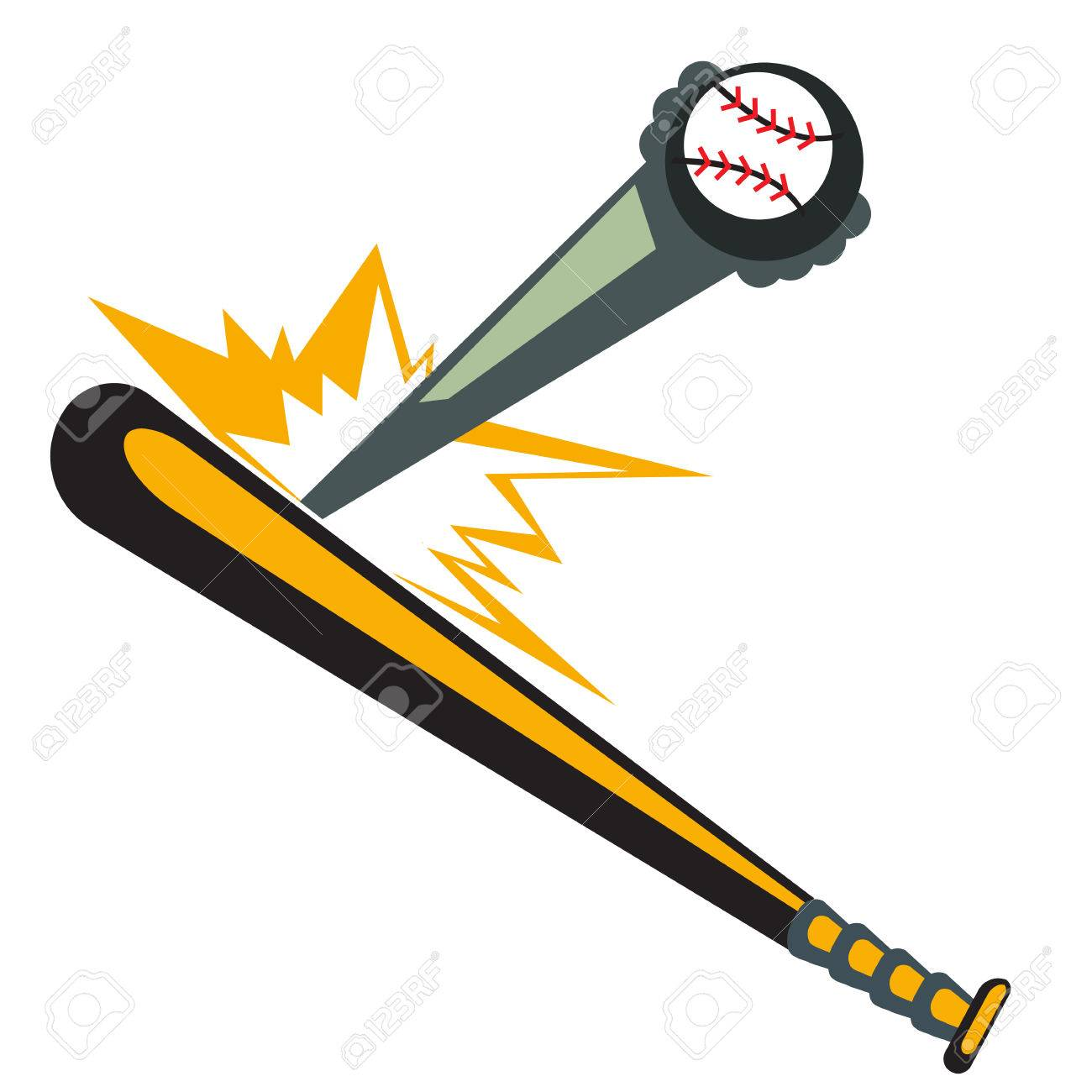 1300x1300 Revolutionary Picture Of Baseball Bat And Ball Clipart Panda Free
