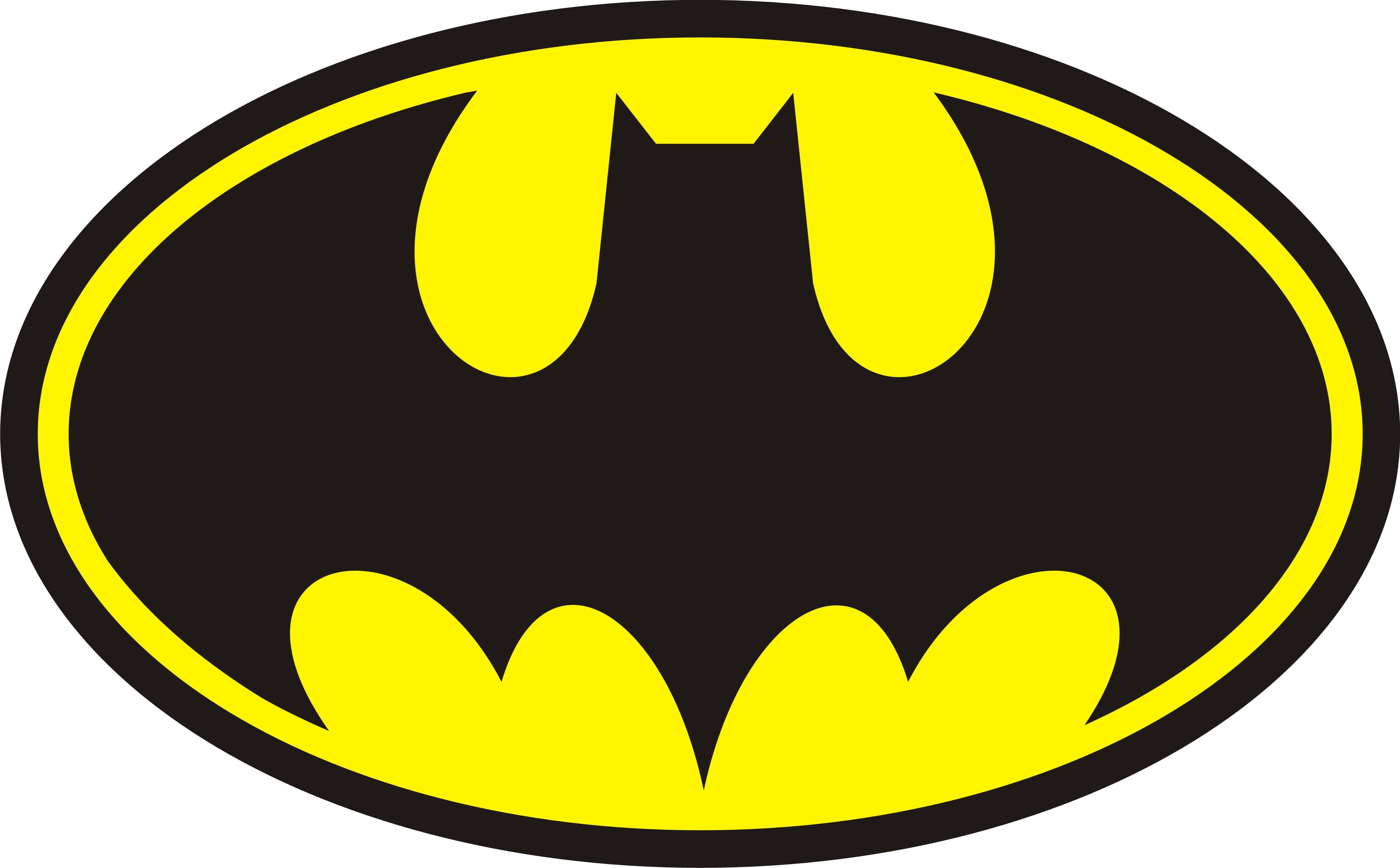 4509x2798 Bat Signal Clip Art Clipart