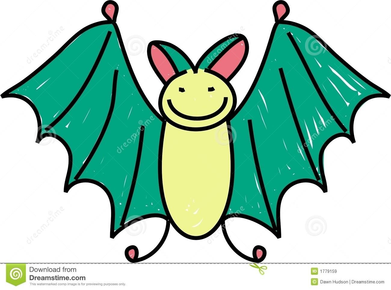 1300x965 Cute Bat Clipart
