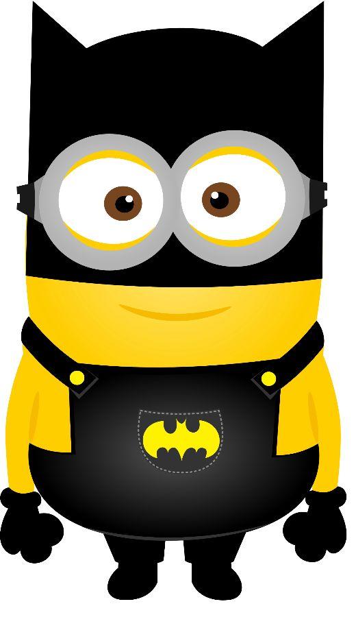 520x900 Batman Birthday Clipart