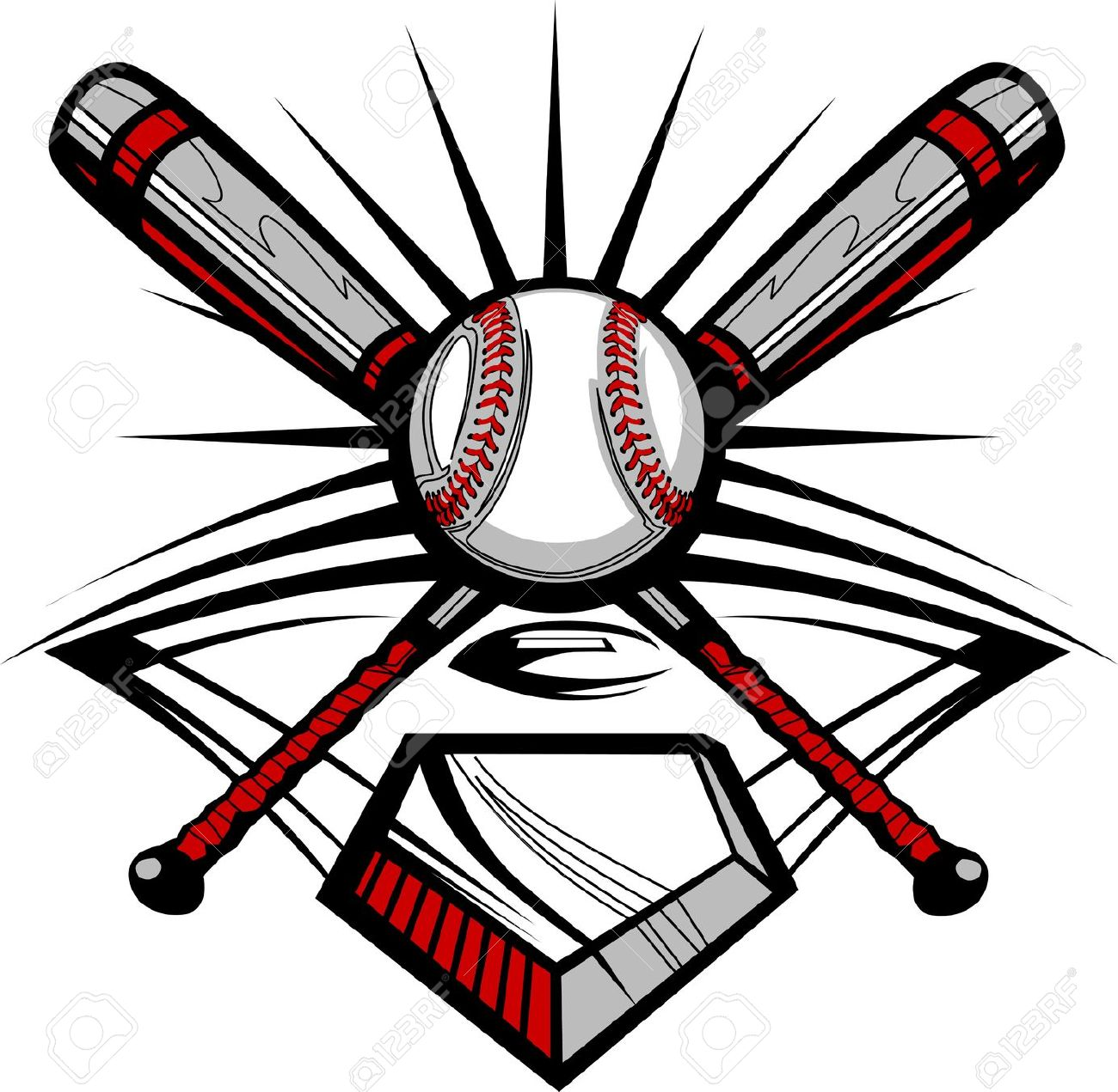 1300x1271 Baseball Bat Clipart Softball Tournament Free Collection