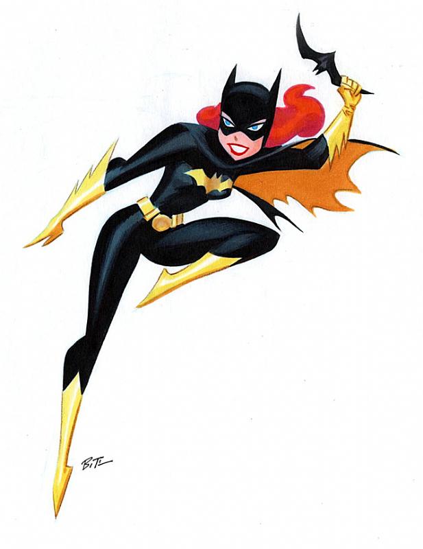 617x800 Batgirl Clipart Tv Show