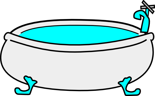 600x373 Image Of Bathroom Clipart