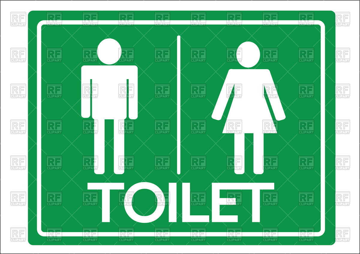 1200x849 Toilet Symbol Male And Female Icon Royalty Free Vector Clip Art