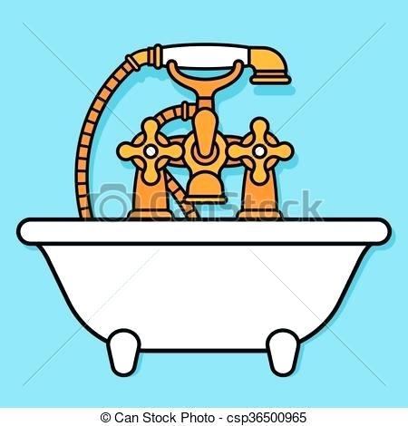 450x470 Bathtub Clip Art Bathroom Clip Art Girl Bath Kid Cute Bathtub