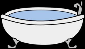 300x174 Bathtub Clip Art