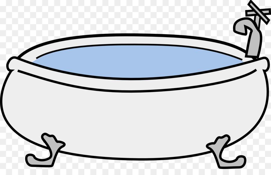 900x580 Bathtub Hot Tub Clip Art