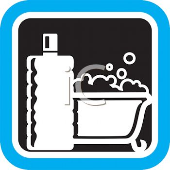 350x350 Royalty Free Cliprt Image Bathtub Filled With Bubblesnd