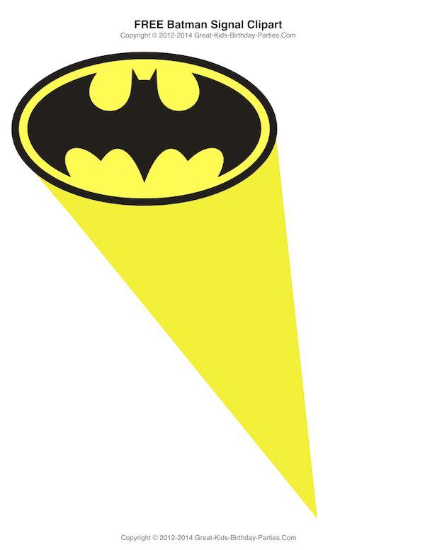 600x776 Batman Signal Clip Art Clipart
