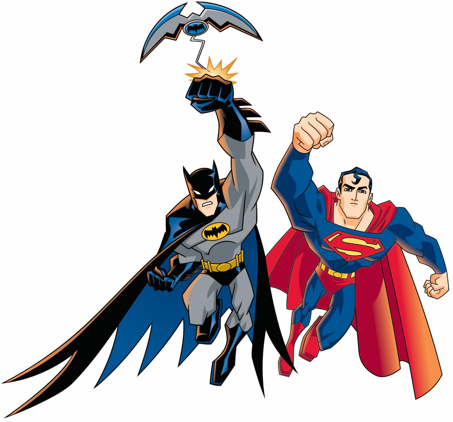 1904x1777 Batman And Superman Clipart