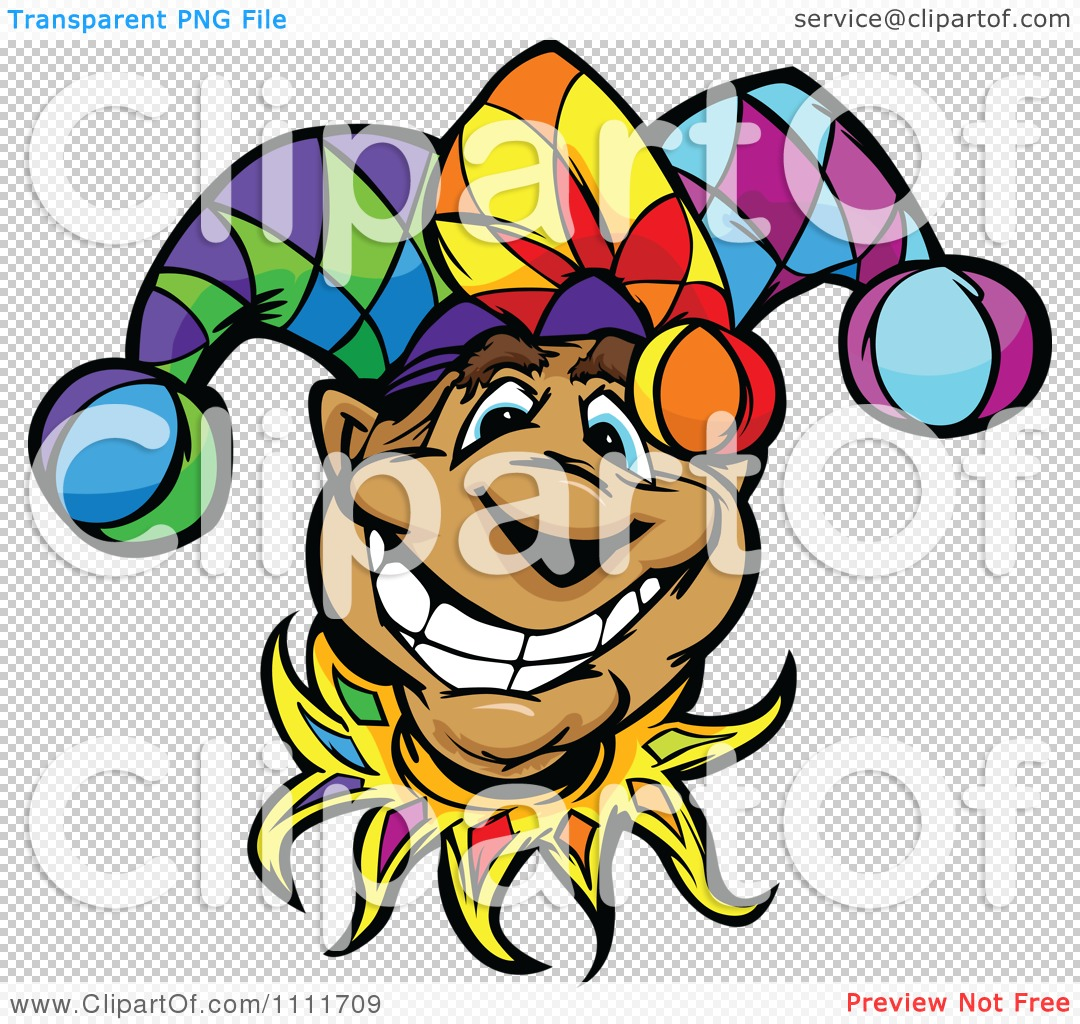 1080x1024 Clipart Happy Smiling Jester Face