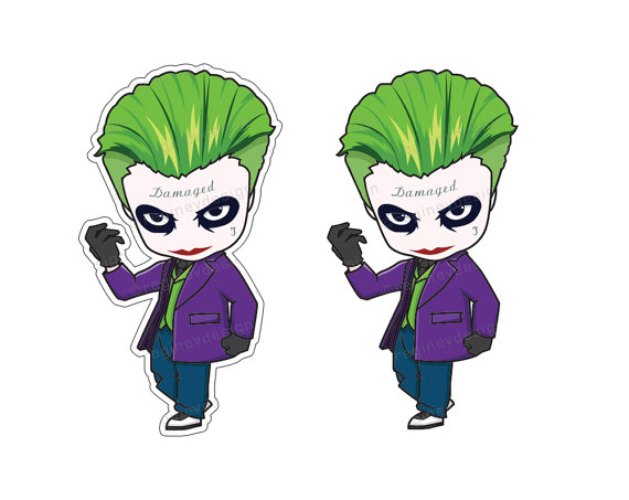 570x453 Joker Suicide Squad Clipart Illustration Harley Quinn