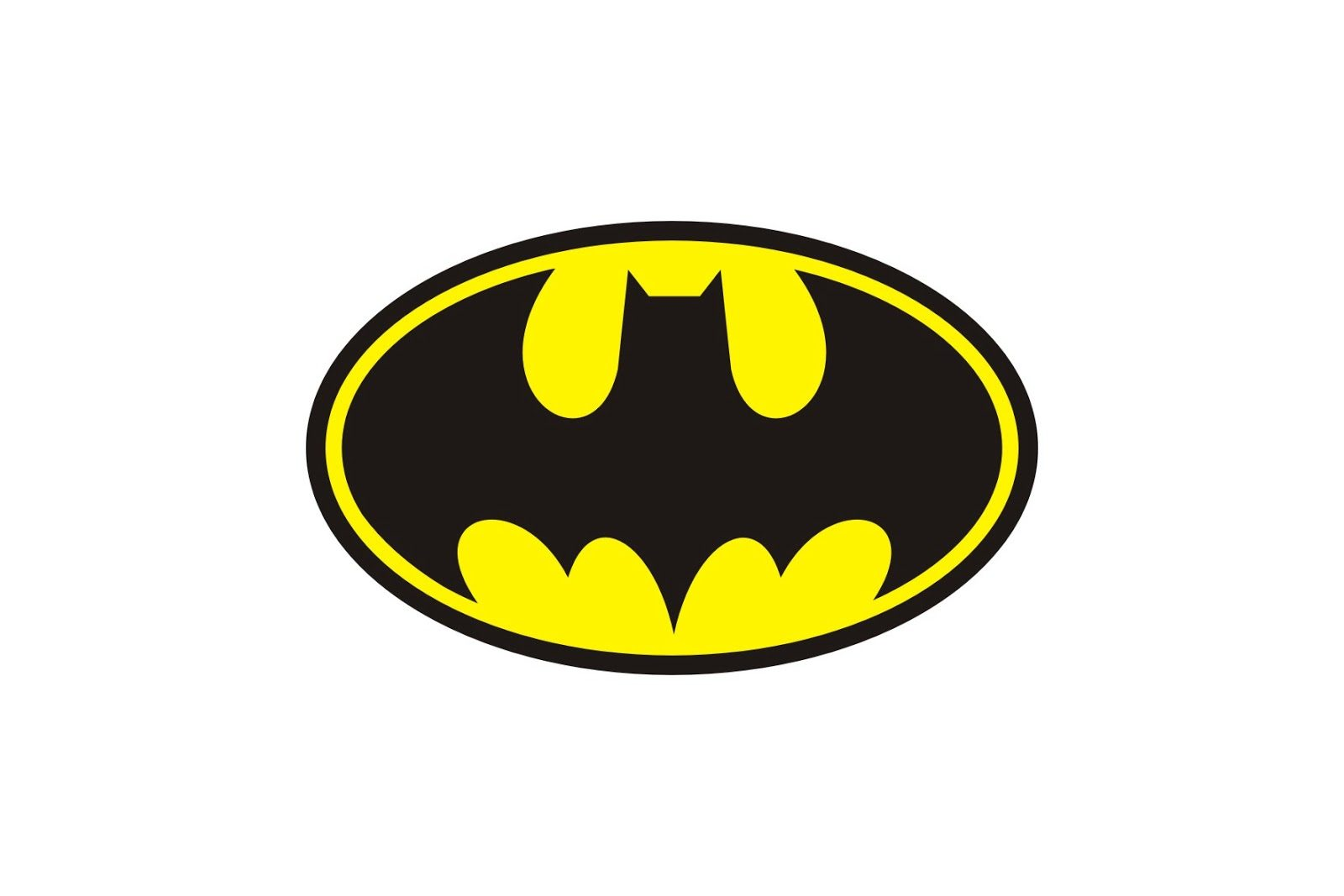 1600x1067 Batman Logo Template Clipart Library Free Printable Download Clip