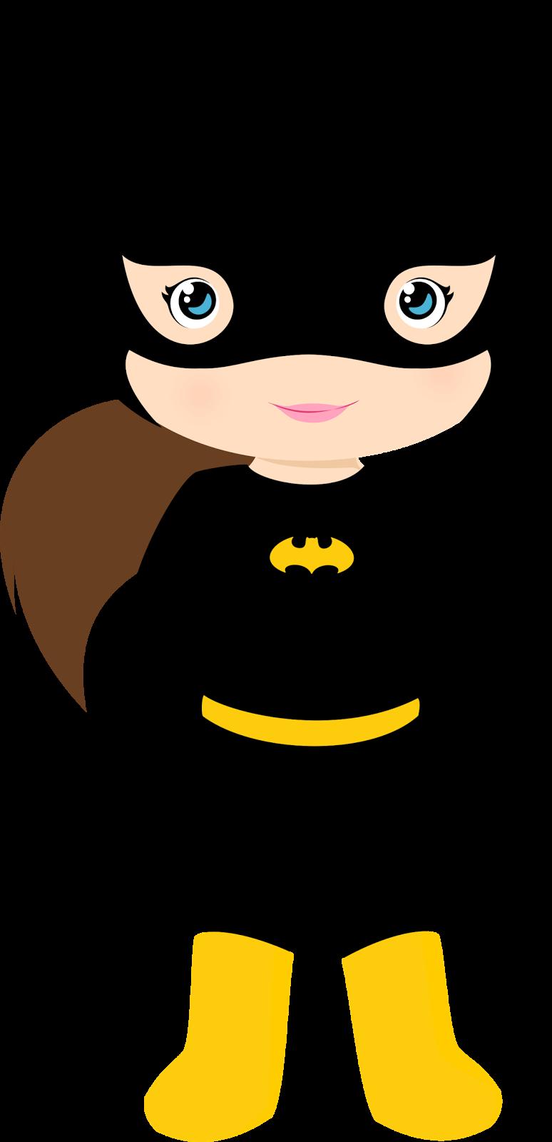 774x1600 Characters Of Batman Kids Version Clip Art.