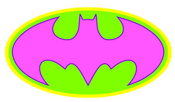 600x349 Batman Logo 2 Clip Art