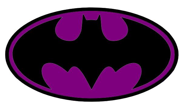 600x349 Batman Logo Clip Art