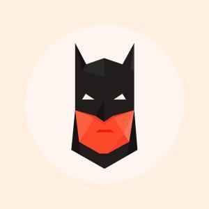 300x300 Catchy Batgirl Symbol Outline Awesome Batman Logo Vector Free