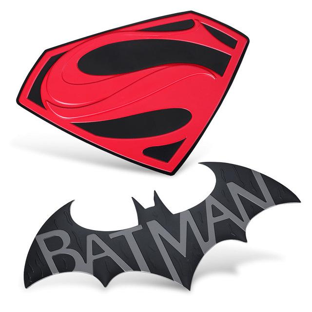 640x640 Hot Movies Batman V Superman Huge Sticker Luxury Car Sticker