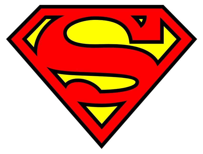 854x649 Superman Clipart.