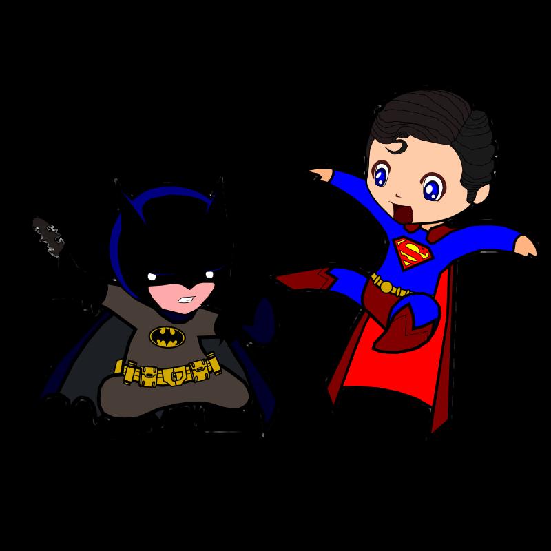 800x800 Superman Vs Batman Clipart Image Group