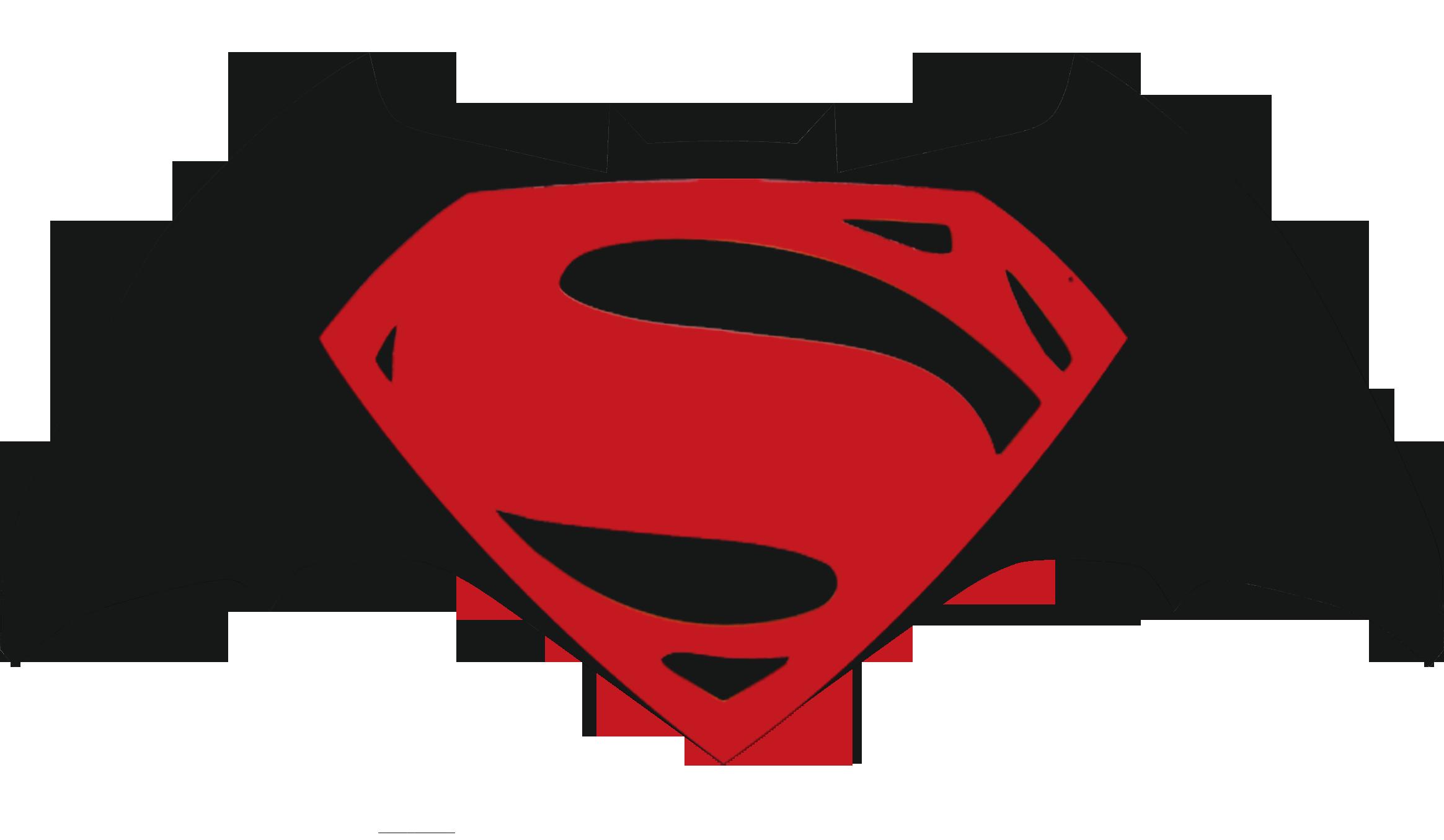 2329x1355 Batman V Superman Logo Minimalist By Movies Of Yalli