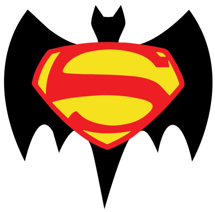 900x888 Batman V Superman Retro Logo By Jarvisrama99