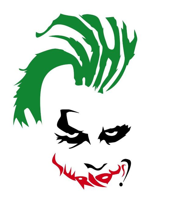 564x729 Collection Of Joker Clipart Dark Knight High Quality, Free