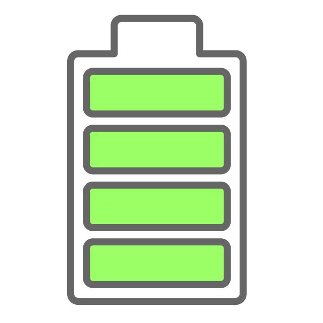 640x640 Battery Full
