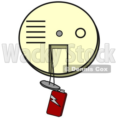 400x400 Clipart Illustration Ofn Off White Smokend Firelarm