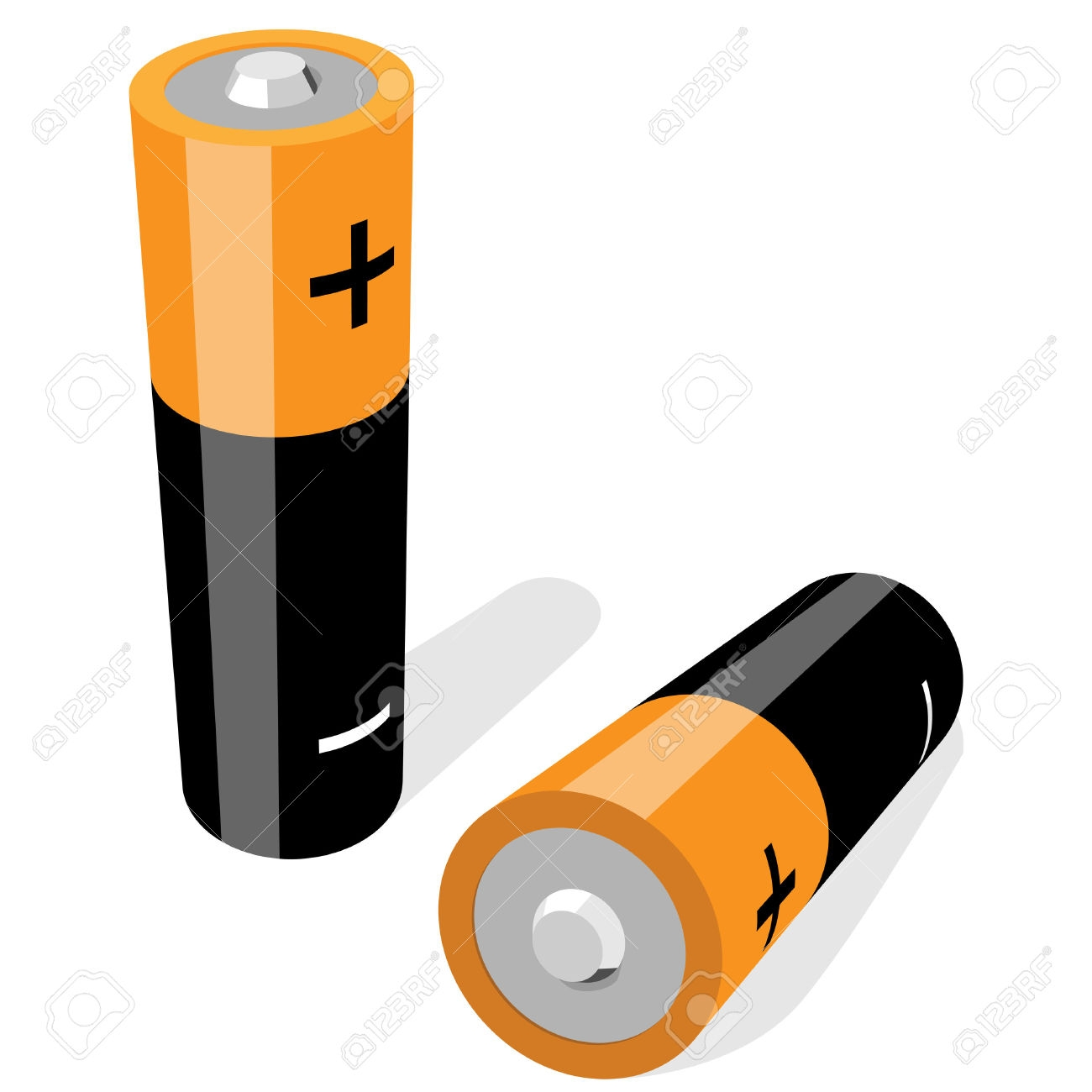 1300x1300 New Battery Clipart Collection