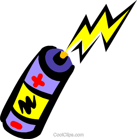 471x480 Battery Royalty Free Vector Clip Art Illustration Envi0170