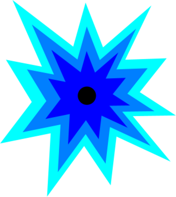 600x671 Battle Clipart Star Explosion