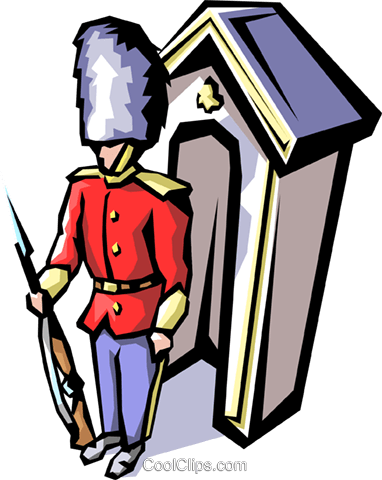382x480 British Guard Royalty Free Vector Clip Art Illustration Peop1136