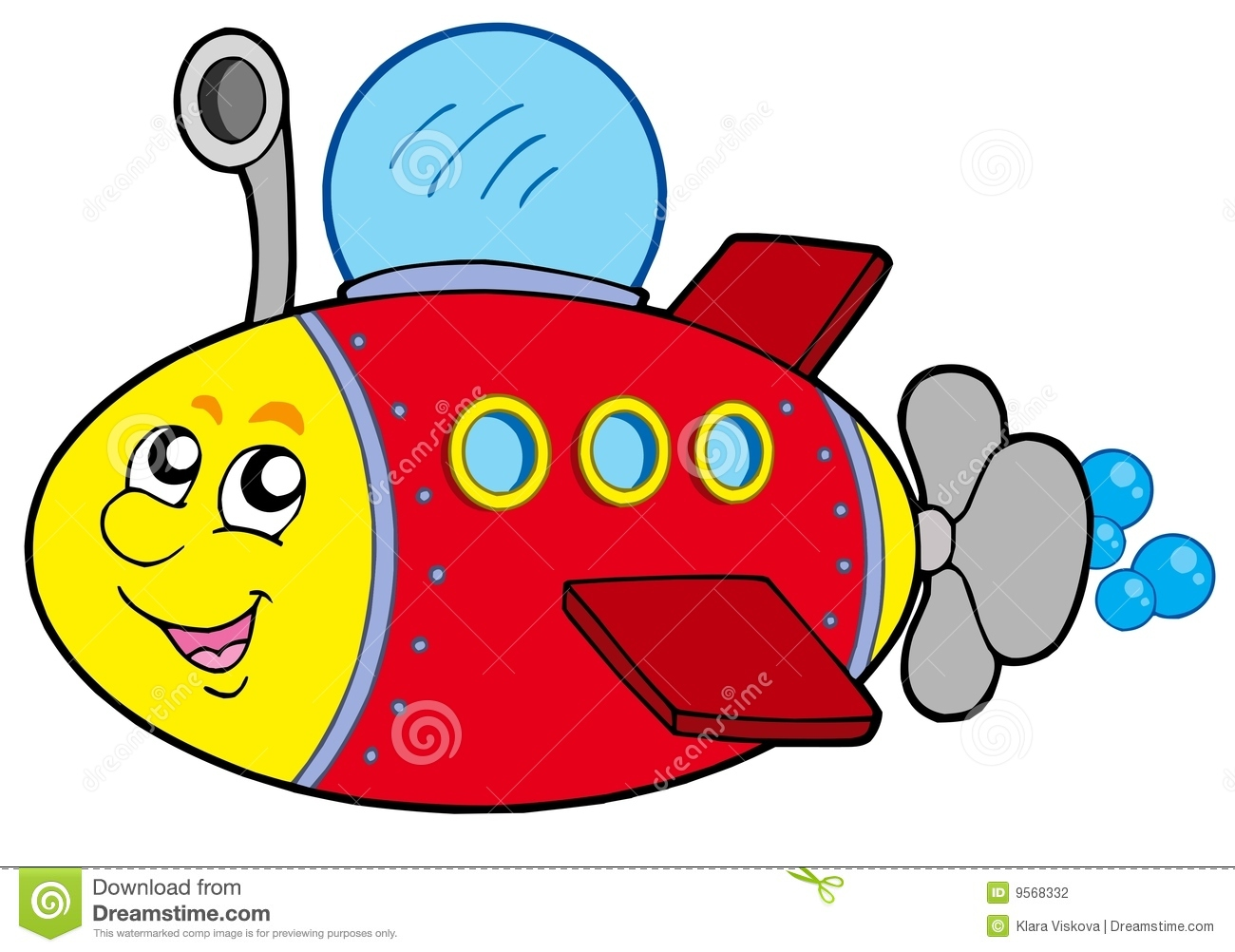 1300x1002 Anmimated Submarine Clipart