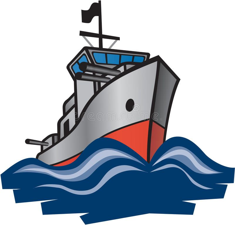 800x767 Navy Destroyer Royalty Free Stock Images