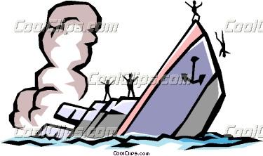 375x222 Sinking Ship Clipart