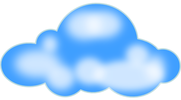 600x333 Cloud Clipart