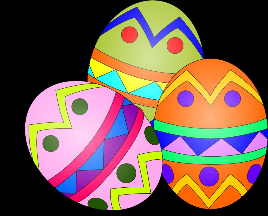 900x724 Easter Egg Clipart