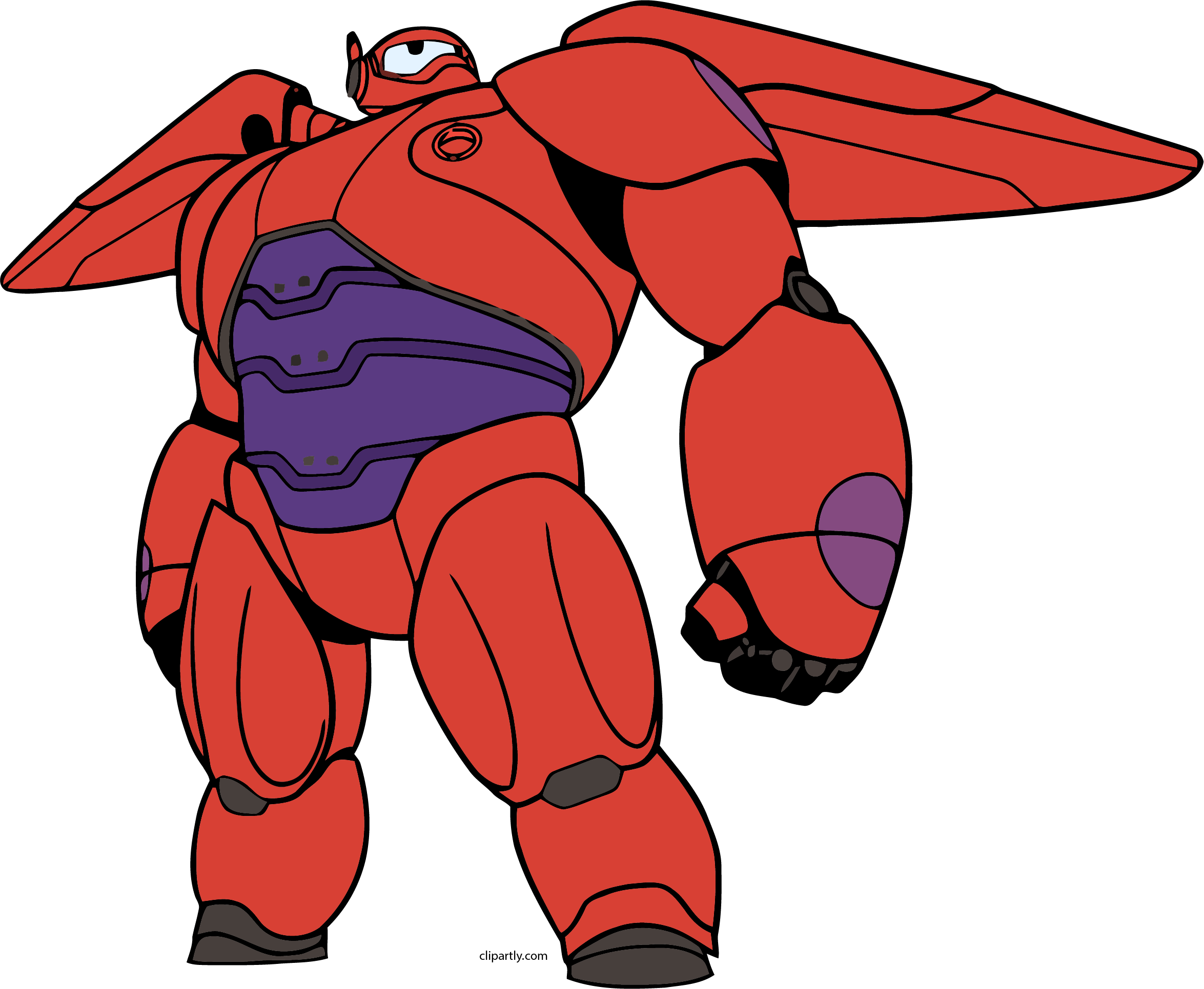 2349x1931 Baymax Mech Fly Png Clipart