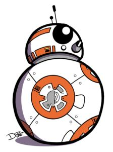 224x300 Star Wars R2d2 Bb8 Wood Cutouts! Bb8, Star Wars Decor