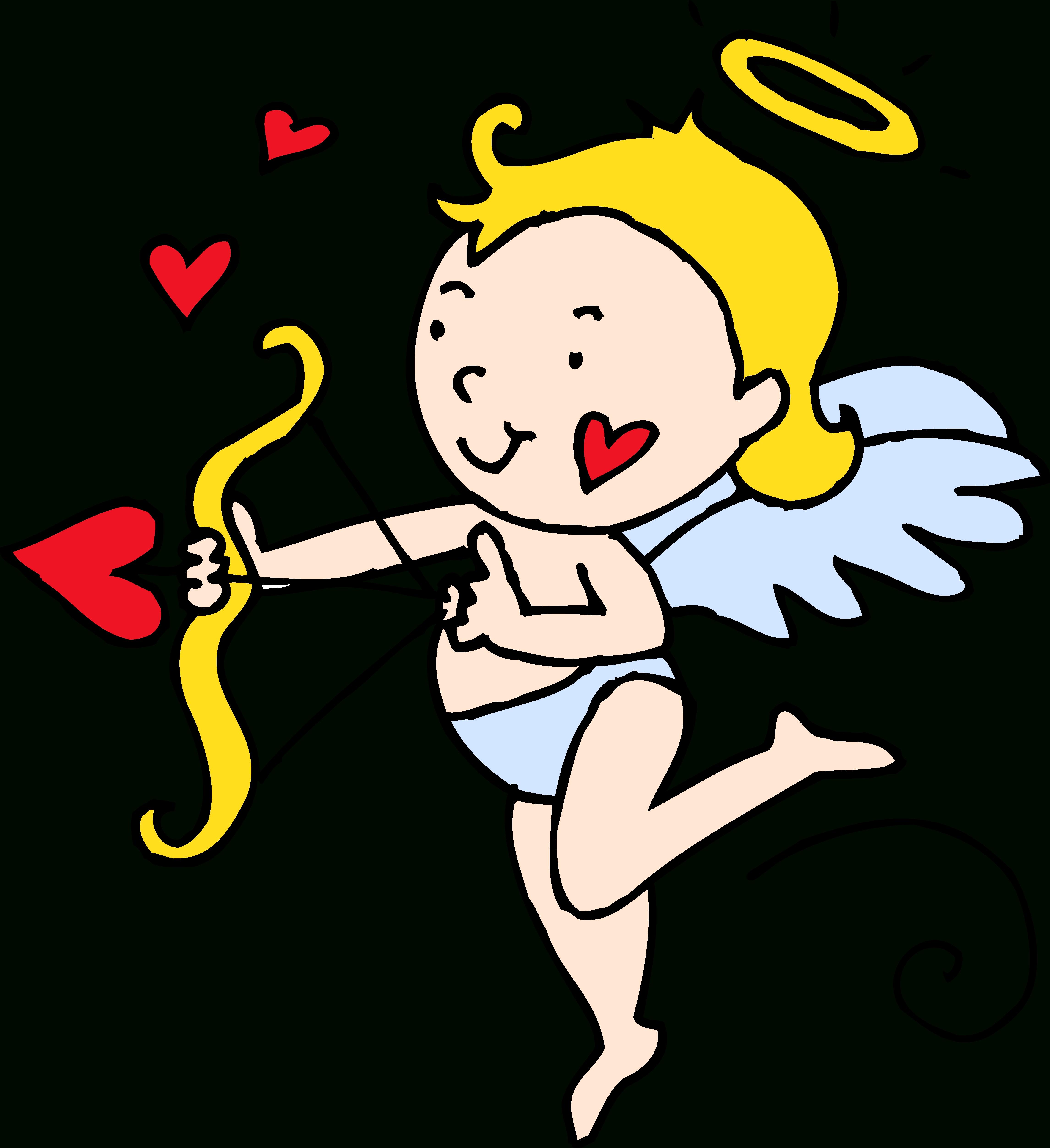 4582x5008 Cupid Clip Art