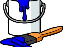 220x165 Paint Can Clipart Paint Can Clip Art Black And White Kind