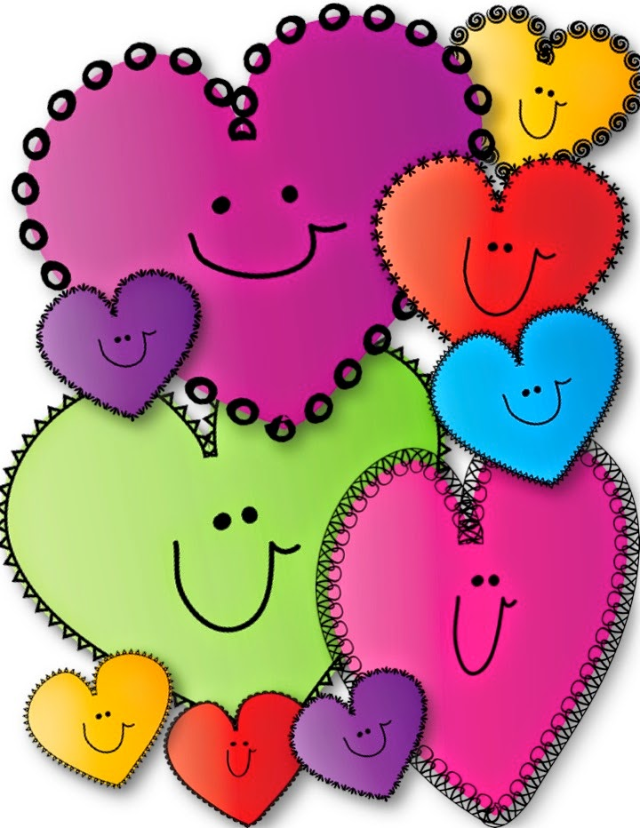 720x932 Free Happy Hearts Clip Art!