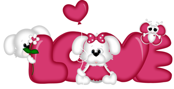 600x308 Love 2 Cute Clipart Clip Art, Scrapbooks And Scrap
