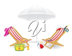 236x183 Beach Scene Clip Art Beach Chair Vector Landscape
