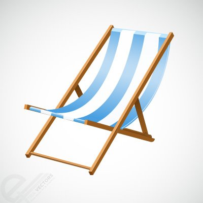 400x400 Free Beach Chair Clipart And Vector Graphics
