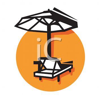 350x350 Beach Chair Icon For A Resort